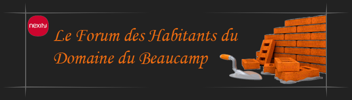 Le Forum de discussions des habitants du domaine du Beaucamp